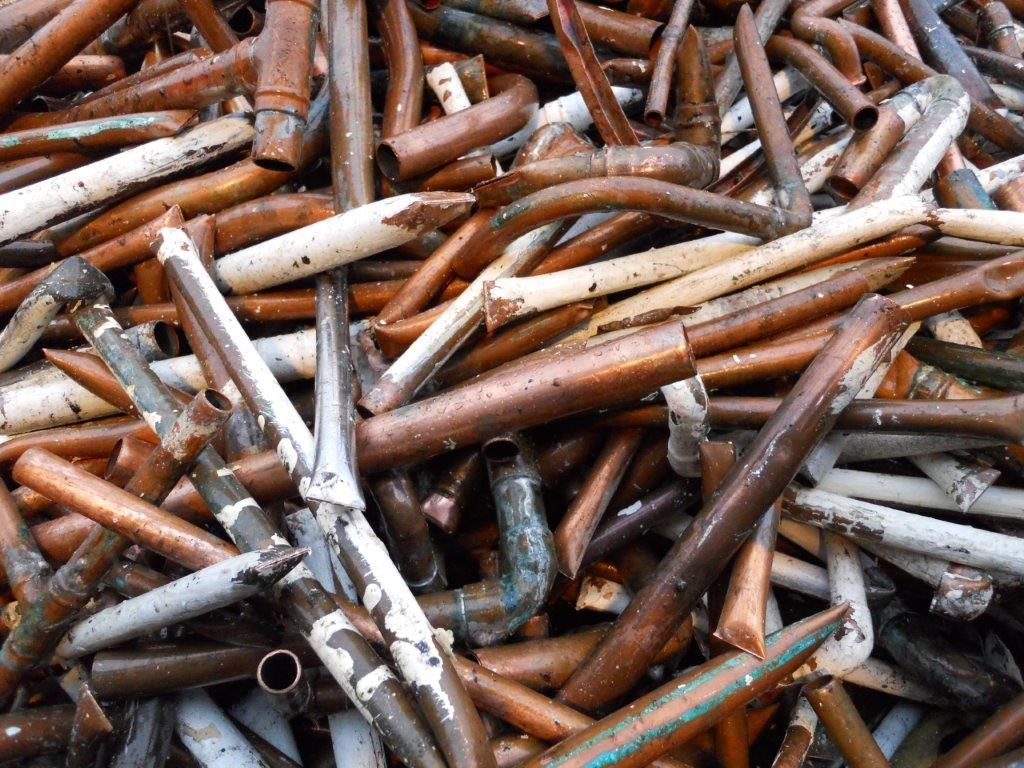 Metals City Scrap Wire Harness Heavy Copper Tube Only